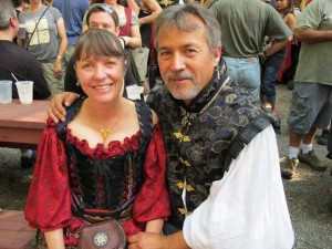 Art and Marty at the Maryland Renaissance Faire