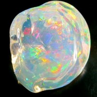 Crystal Ice - 21.5 ct Mexican Fire Opal