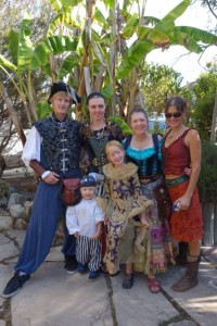 The Marty Magic Family_pirates, princesses and wenches