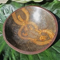 Decorative Lizard Bowl, Zimbabwe