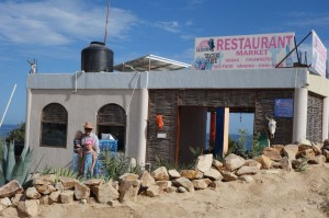 Restaurant, La Fortuna, East Cape Baja