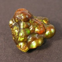 Surreal - Carved Arizona Fire Agate 20 ct