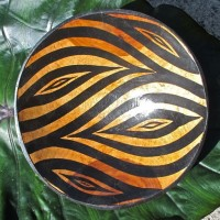 Zimbabwe Bowl with Zebra Design