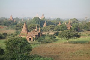 Temple Panorama - Bagan Myanmar
