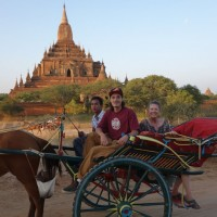 Horse Cart in Bagan Myanmar