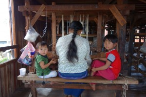 Silk Weaving - Inle Lake, Myanmar