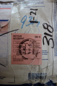 The returned package from Russia