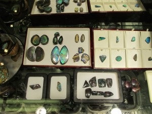 Boulder and Korite Opals - Tucson Gem and Mineral Show
