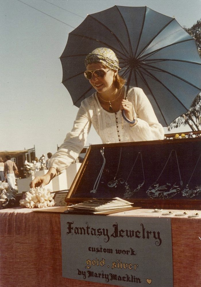 Early Fantasy Jewelry Display 1976