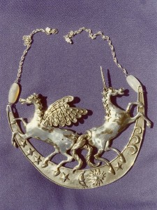 Pegasus and Unicorn Neckpiece, 1976?