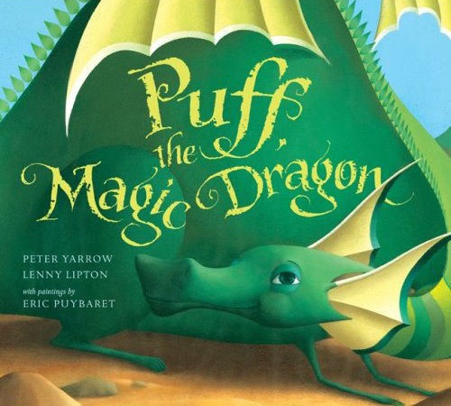 Book Cover - Puff the Magic Dragon by Lenny Lipton and Peter Yarrow