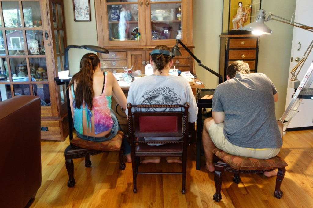 Wax Carving - A Family Affair