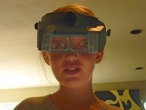 magnifying goggles for jewelry design
