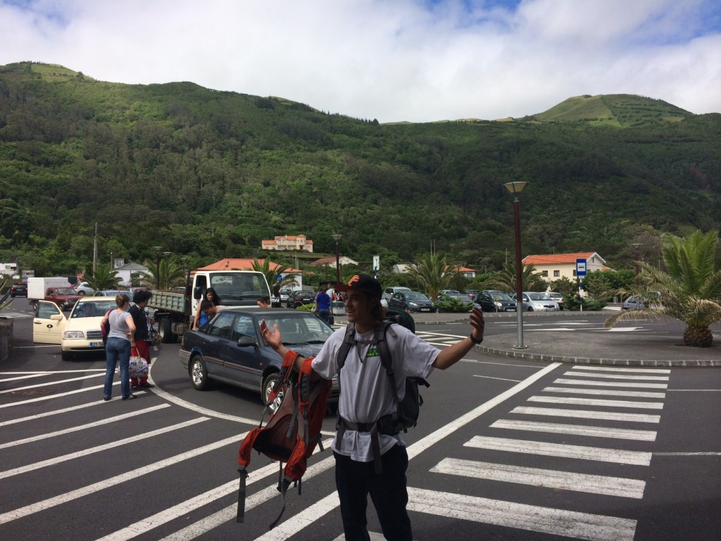 John,  Arriving in the Azores