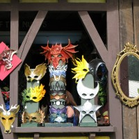 Maryland Renaissance Fair - Leather Masks