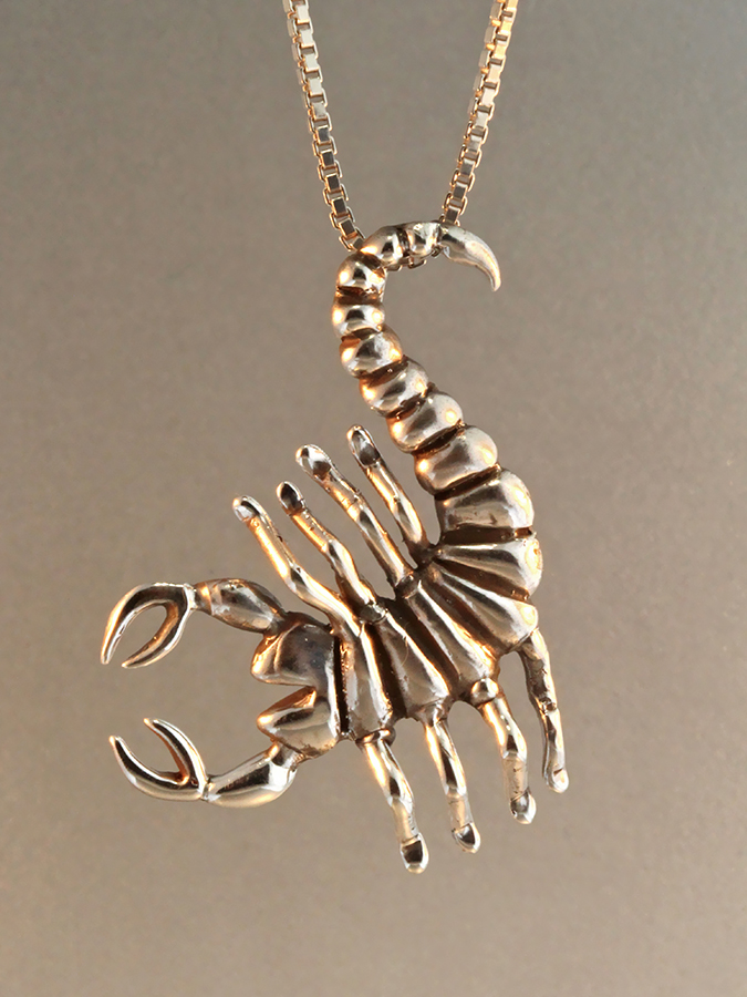 Marty's Classic Scorpion Pendant, soon to be updated!