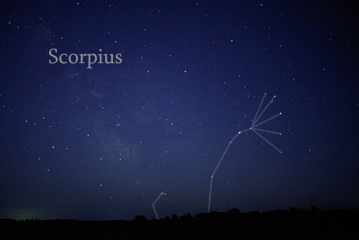 Constellation Scorpius, Photo by Till Credner of AllTheSky.com.