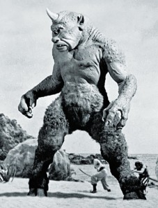 Cyclops, photo by Ray Harryhausen