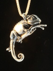 Marty Magic, Chameleon Pendant, 2015