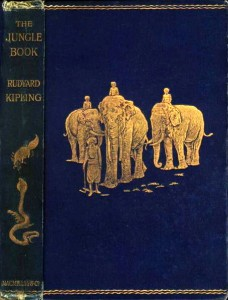 Jungle Book Cover Rudyard Kipling