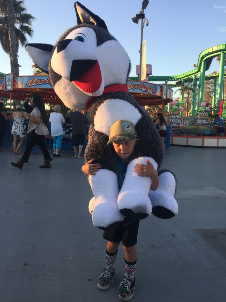 Jacob's Ladder win at the Santa Cruz Boardwalk, 2015