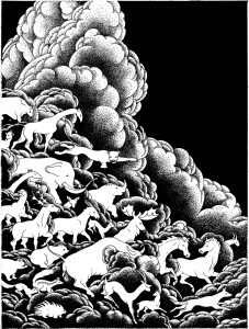 Cataclysmania - Betty Crowell 'Exodus of the Animals'