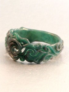 Cosmos Ring - Side View - Wax Original