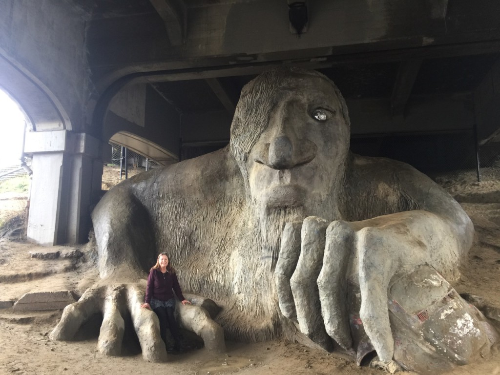 Marty Fremont Bridge Troll
