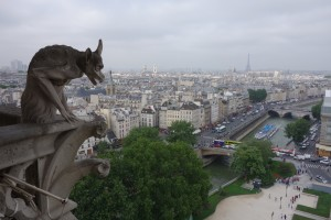 View of Paris and the Seine
