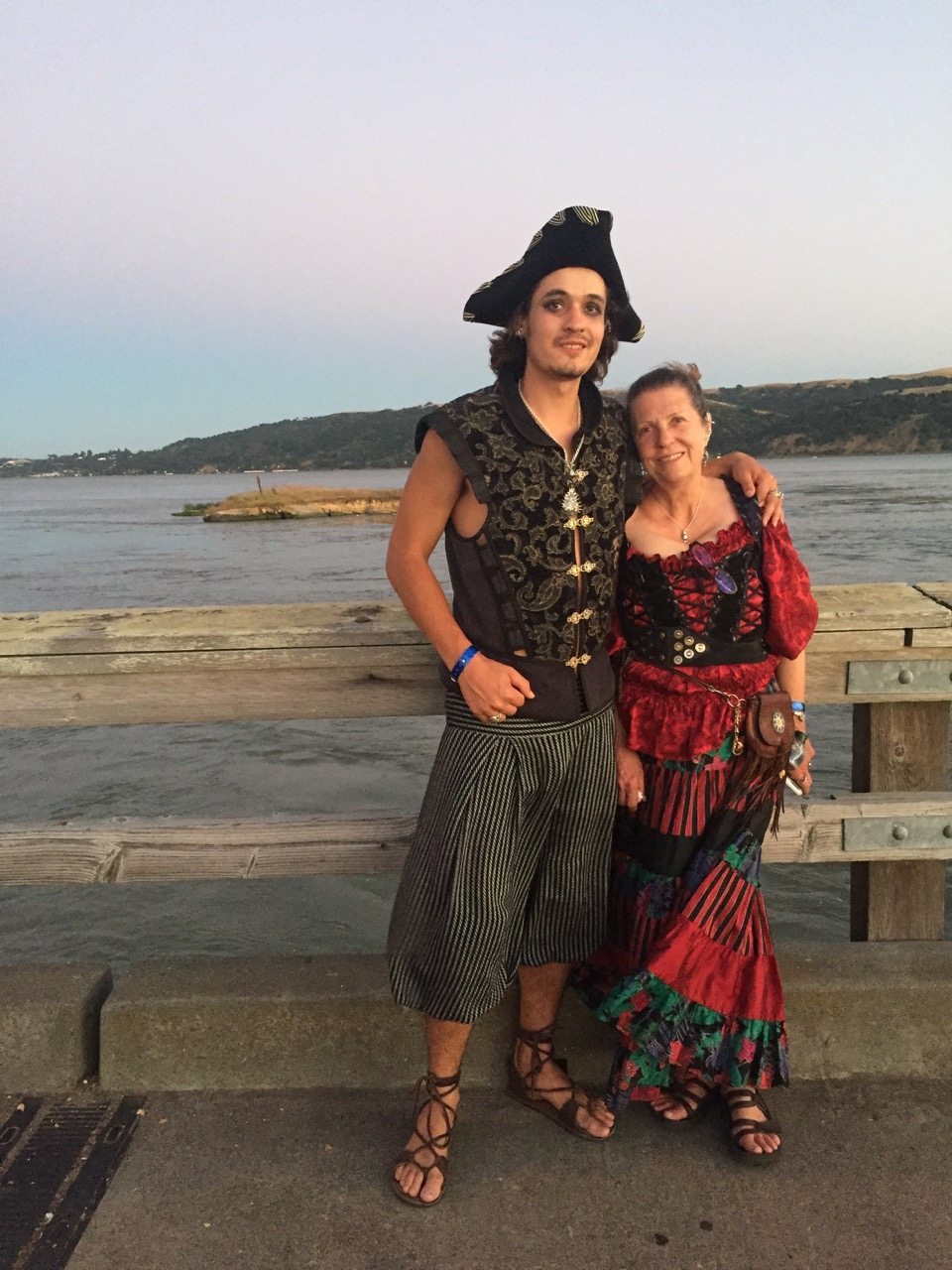Even pirates have mothers