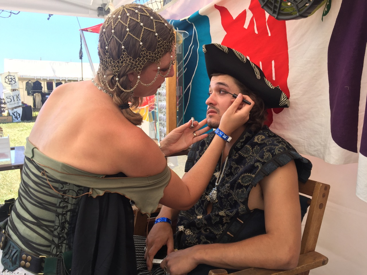 Make up time for Pirate John