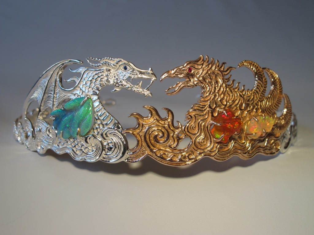 Dragon and Phoenix Tiara