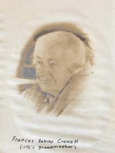 My great grandmother, Francis Eakins Crowell
