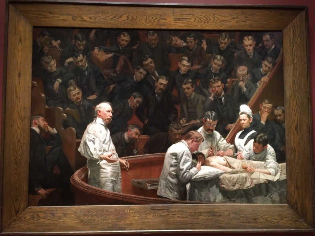 The Agnew Clinic, Philadelphia Museum of Art